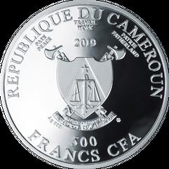 Монета Самый лучший класс  500 XAG Серебро упаковка